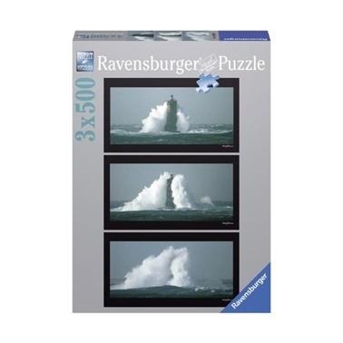 Ravensburger Ravensburger Puzzle 3-500 Parça Fırtınada Fener Renkli